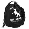 Promotional Dog Training Treat Bags - Black