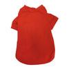 Pet T-Shirts, Full Color Imprint - RED