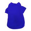 Pet T-Shirts, Full Color Imprint - BLUE