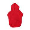 Pet Hoodie Sweatshirts, Full Color Imprint - RED