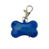 Bone Strobe Safety Collar Tags - Blue