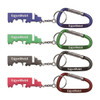 Truck Shape Bottle Opener Key Chain with Carabiner