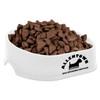 Happy Dog Pet Bowls - White