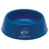 Plastic Pet Bowls with Custom Promotional Imprint - Blue