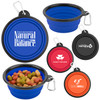 Collapsible Silicone Pet Bowl w/Carabiner