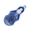 Promotional Pet Travel Water Bottle-Bowl - Blue Back