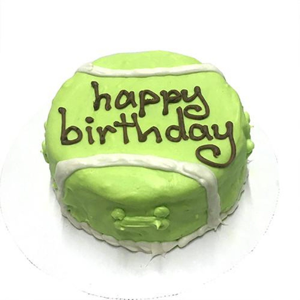 Pleasing Customized Birthday Cakes For Dogs Tennis Ball Organic Dog Treats Personalised Birthday Cards Veneteletsinfo