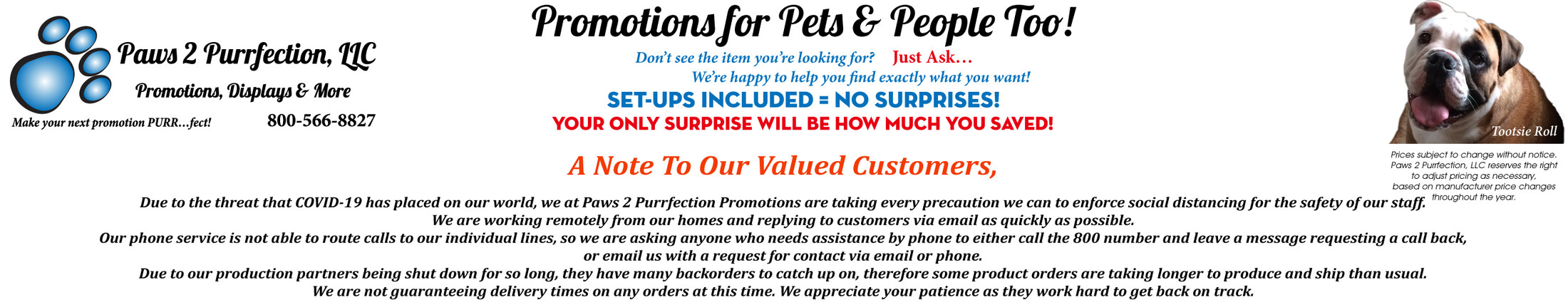 Paws 2 Purrfection, LLC