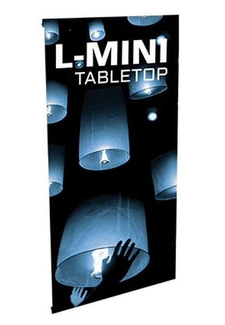Table Top Tension Banner - L-Mini