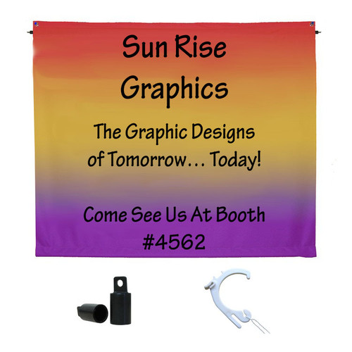 Printed Fabric Banner Kits - All Hardware Included