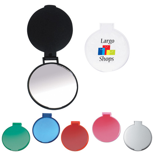 Custom Imprinted Round Compact Mirror
