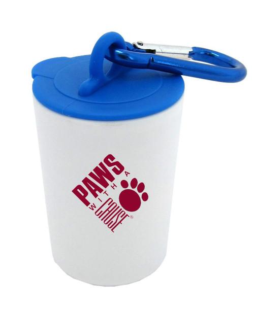 Promotional Pet Waste Bag Dispenser Canister - 1 Color Imprint