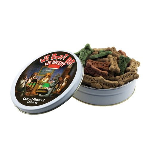 Promotional Dog Treat Gift Tins