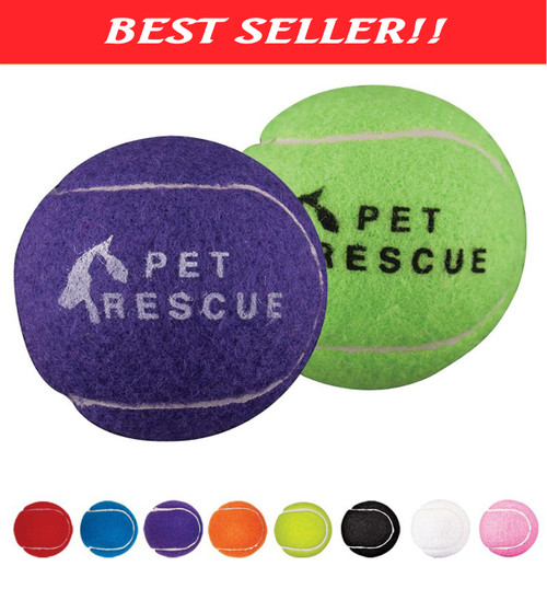 Dog Tennis Balls - Custom Promo Dog Balls