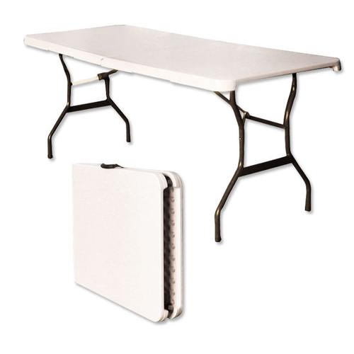 EZ Up 6' Bi-Fold Display Table