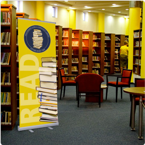 Retractable Banners with Stand - Economy