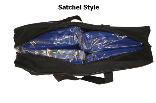 Table Cover Storage Bag Carrying Case - Satchel Style (Open)