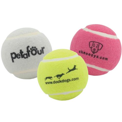 Dog Tennis Balls - Custom Printed Dog Balls