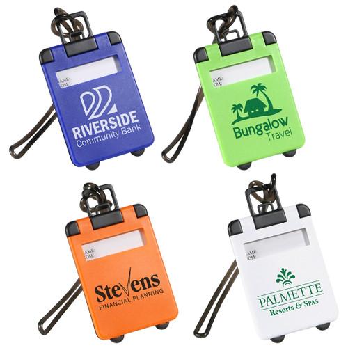 Suitcase Shaped Luggage Tags