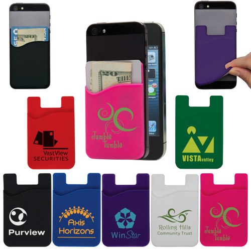 Custom Printed Cell Phone Credit Card Holder