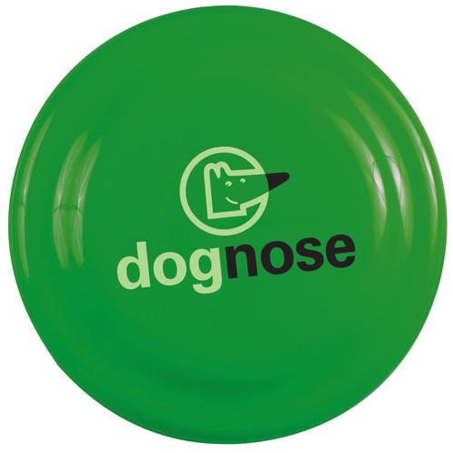 """7"""" Custom Printed Frisbees, Dog Safe Flying Disks - Green"""