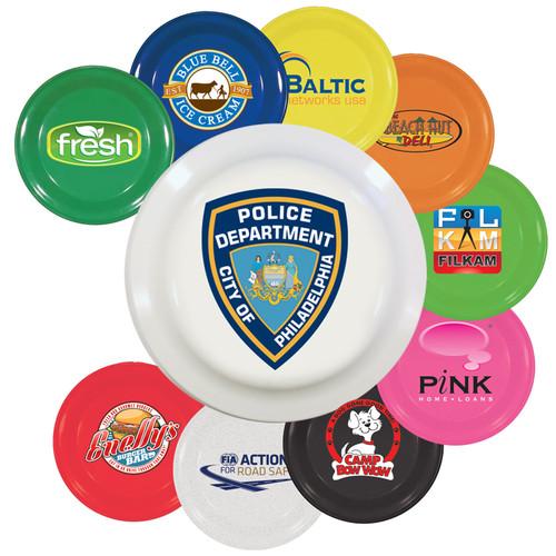 "9"" Promotional Flying Disks for Dogs - Full Color Imprint"