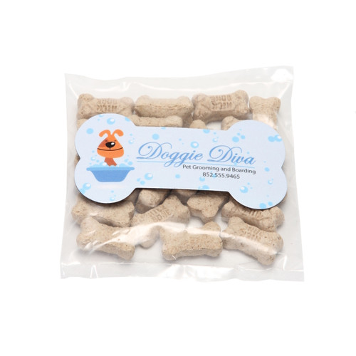 Mini Dog Bones with Custom Bone Shaped Magnet