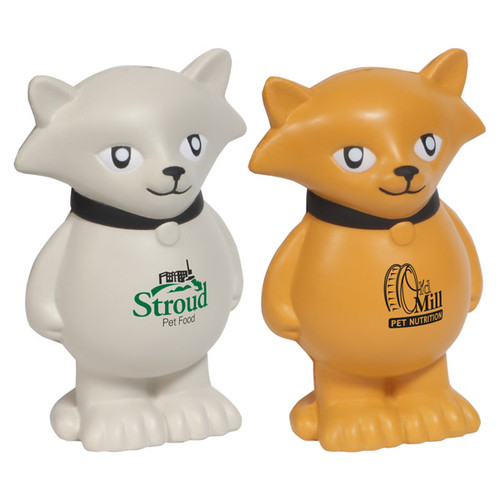 Promotional Stress Relievers - Cartoon Cat