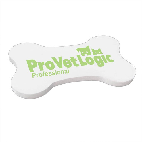 Dog Bone Shaped Post-It Notes for Promotions, 25 Sheets