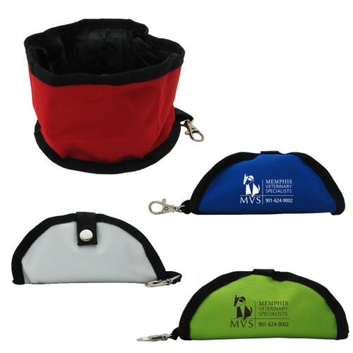 Promotional Portable Travel Dog Bowl