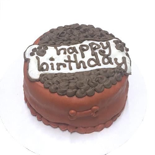 """Customized """"Dog Food Bowl"""" Birthday Cakes for Dogs - Organic"""