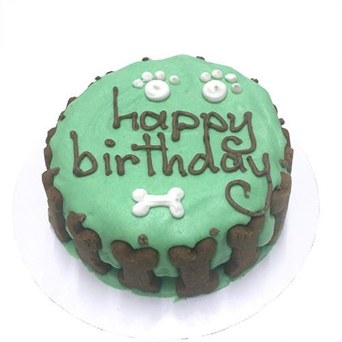 Birthday Cake For Dogs Green