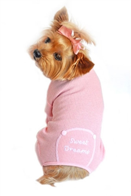 Sweet Dreams Thermal Pajamas - Pink