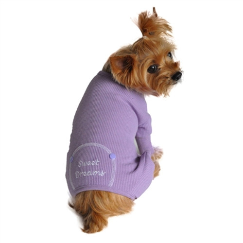 Sweet Dreams Thermal Pajamas - Lilac