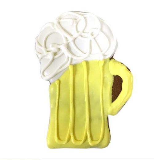 Beer Mug Dog Cookies (Case of 12 Treats)