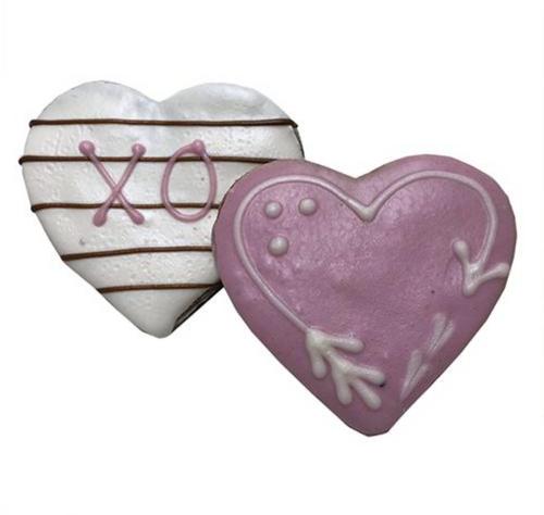 Love Heart Dog Cookies (Case of 12 Treats)