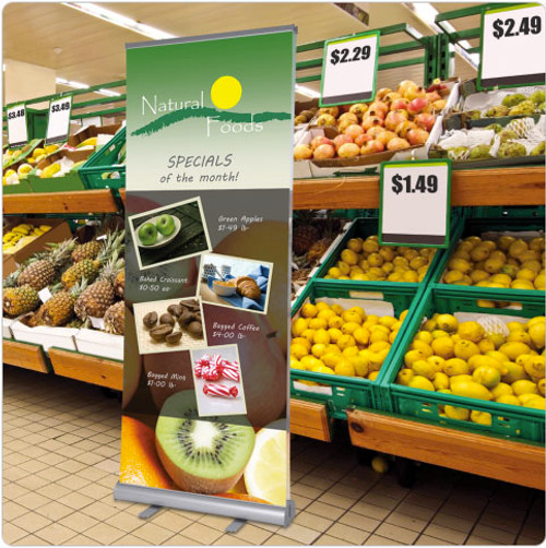 Custom Printed Retractable Banner Stands
