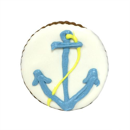 Anchor Dog Cookies (Case of 12 Treats)