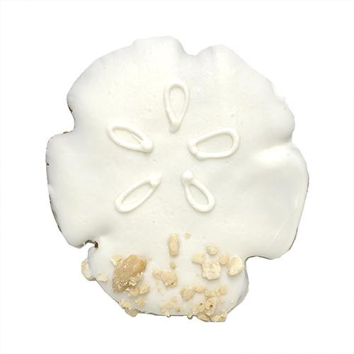 Sand Dollar Dog Cookies (Case of 8 Treats)