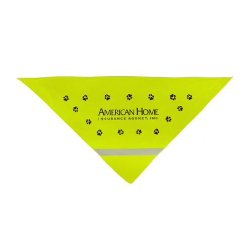 Promotional Reflective Dog Bandanas