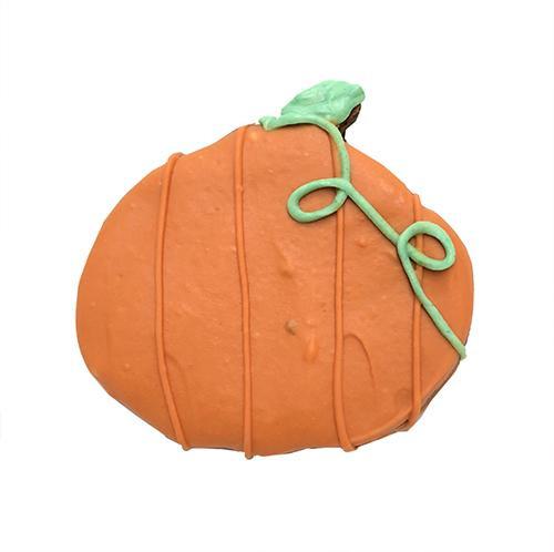 Pumpkin Shaped Dog Cookies (Case of 12 Treats)