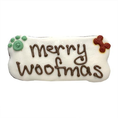 Merry Woofmas Bones Dog Cookies (Case of 12)