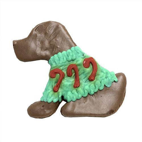 Christmas Sweater Dog Cookies (Case of 12)