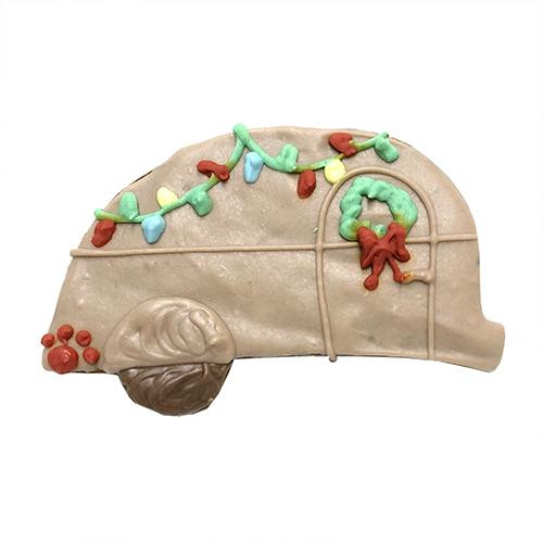 Christmas Camper Dog Cookies (Case of 12)