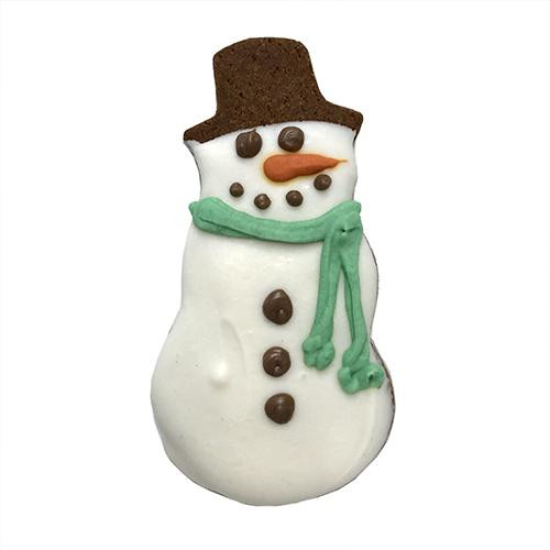 Snowman Dog Cookies (Case of 12)