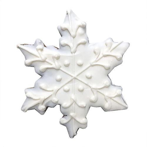 Snowflake Dog Cookies (Case of 12)