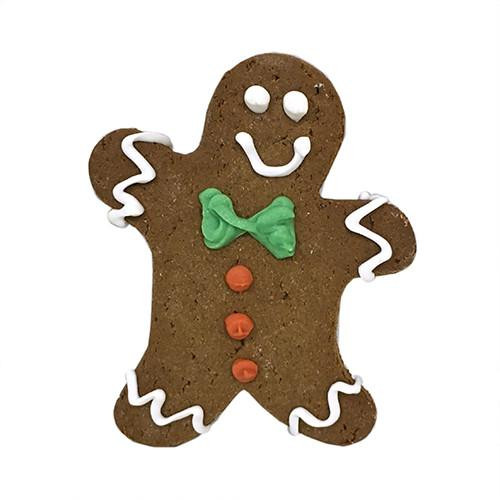 Gingerbread Man Dog Cookies (Case of 12)