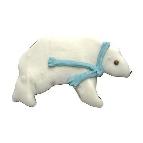 Polar Bear Dog Cookies (Case of 12)