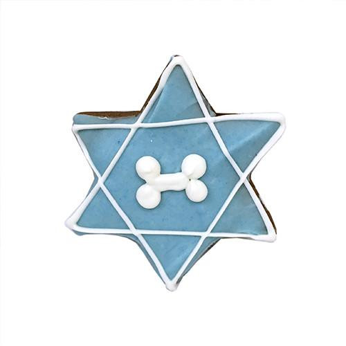 Star of David Dog Cookies (Case of 12)