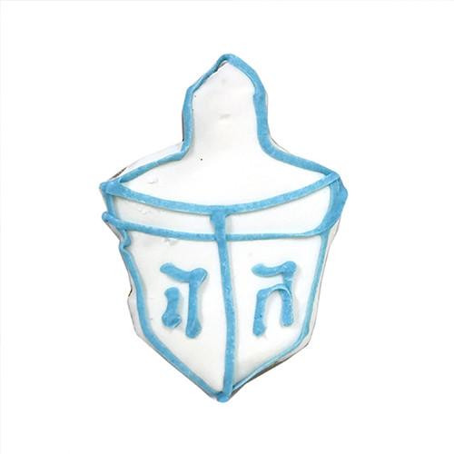 Dreidel Dog Cookies (Case of 12)